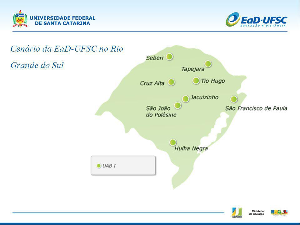 Cenário da EaD-UFSC no Rio