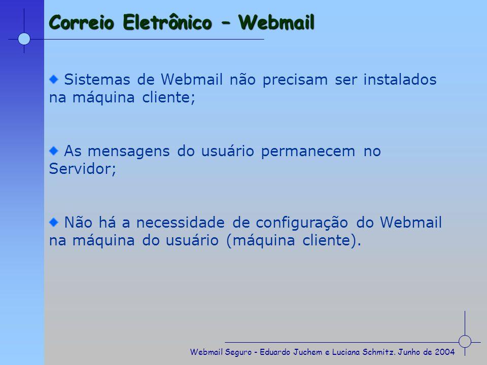 Correio Eletrônico – Webmail