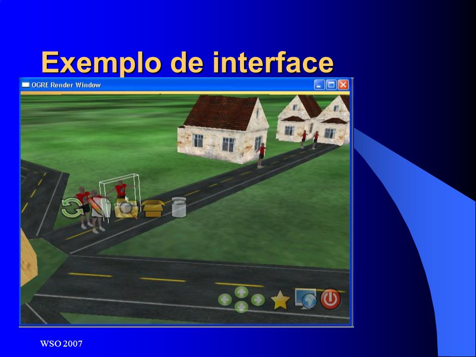 Exemplo de interface WSO 2007