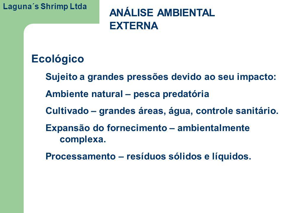 Ecológico ANÁLISE AMBIENTAL EXTERNA