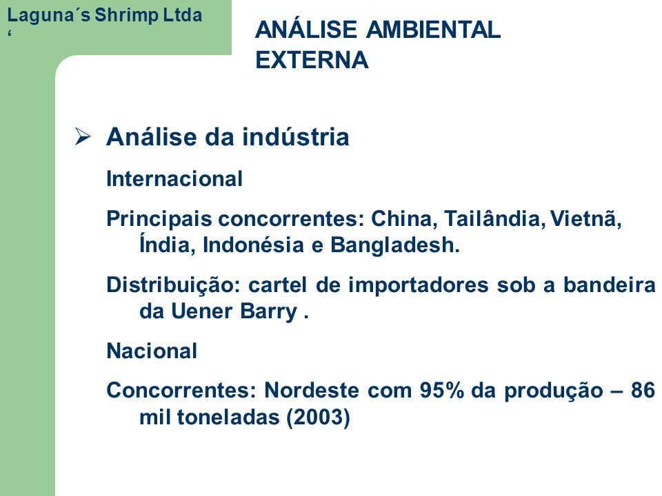 Análise da indústria ANÁLISE AMBIENTAL EXTERNA Internacional