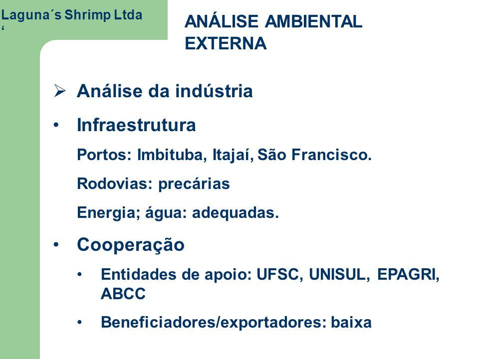 Análise da indústria Infraestrutura Cooperação