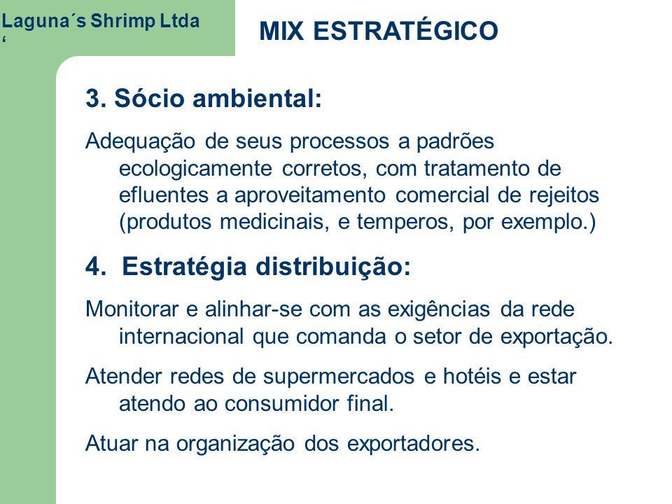 4. Estratégia distribuição: