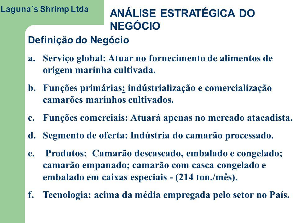 ANÁLISE ESTRATÉGICA DO NEGÓCIO