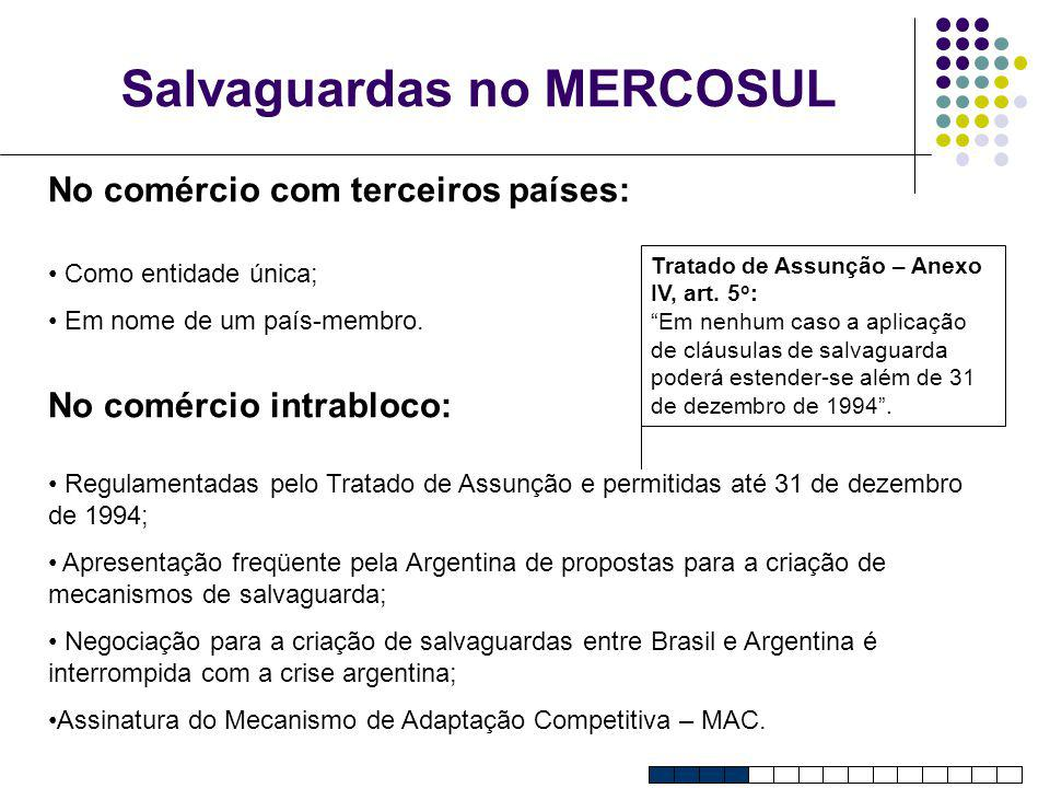 Salvaguardas no MERCOSUL