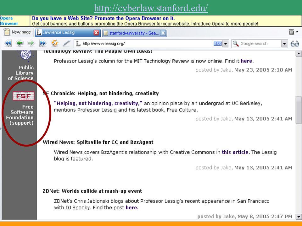 http://cyberlaw.stanford.edu/