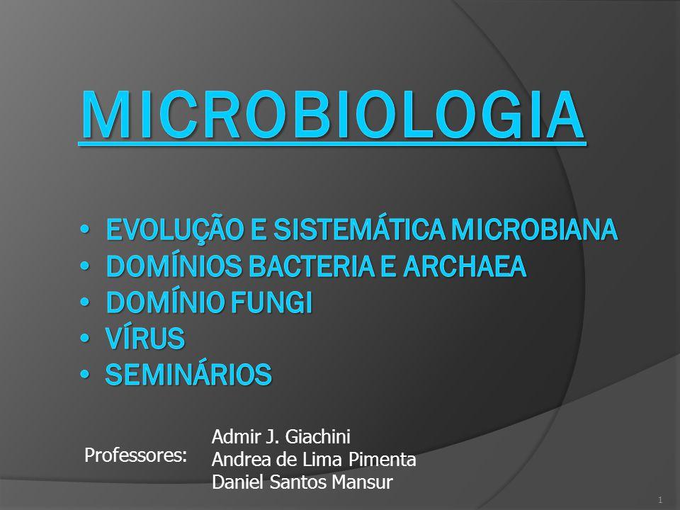 MICROBIOLOGIA Evolução e sistemática microbiana