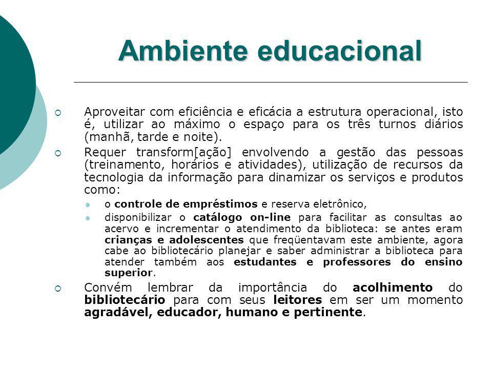 Ambiente educacional