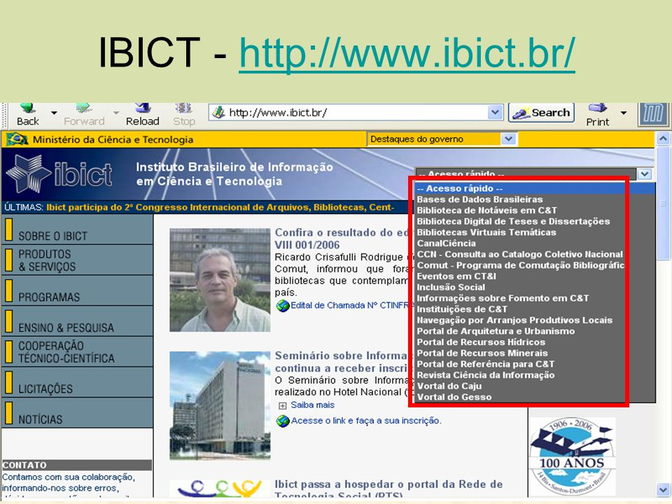IBICT - http://www.ibict.br/
