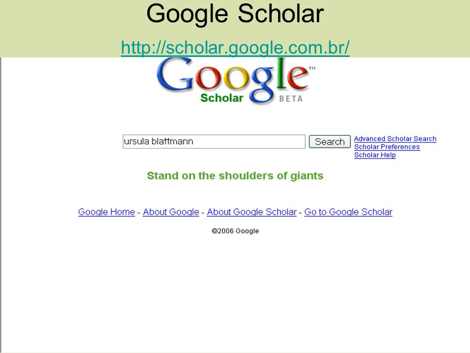 Google Scholar http://scholar.google.com.br/