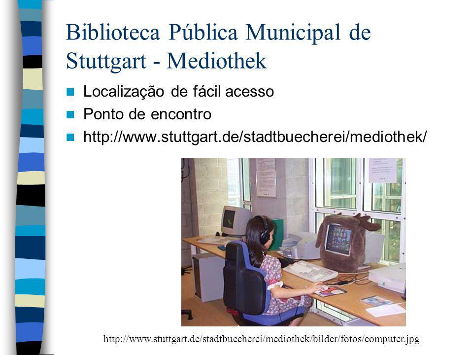 Biblioteca Pública Municipal de Stuttgart - Mediothek