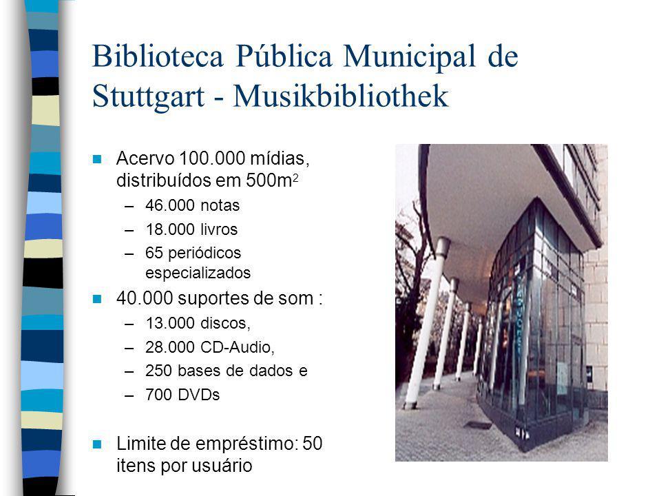 Biblioteca Pública Municipal de Stuttgart - Musikbibliothek