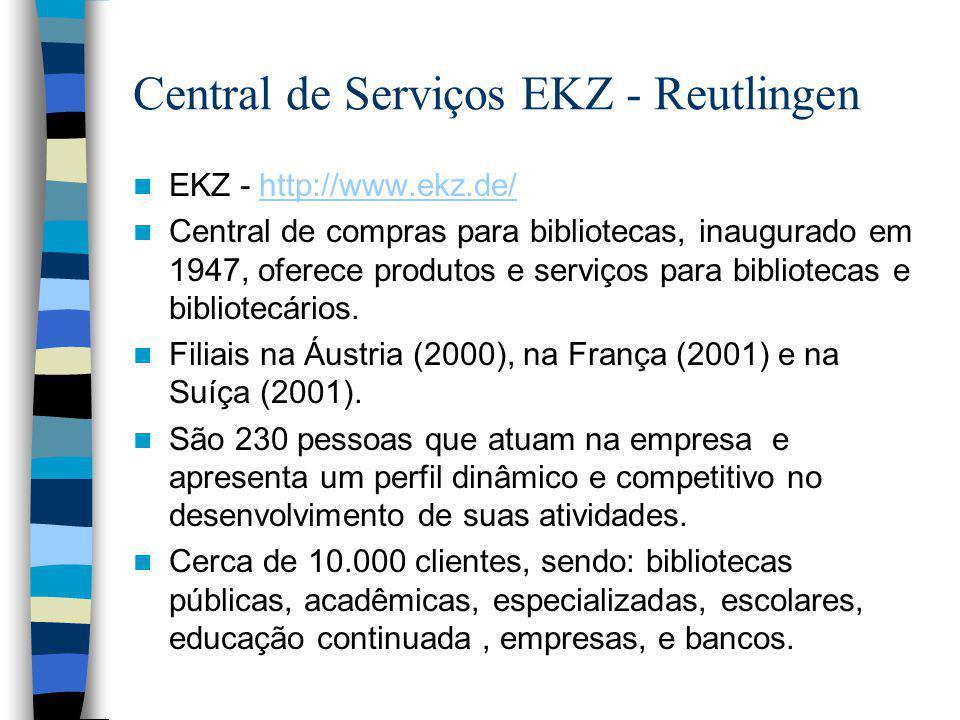 Central de Serviços EKZ - Reutlingen