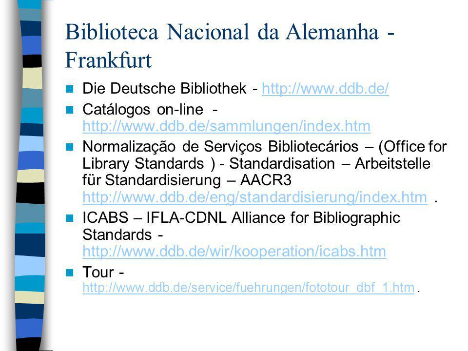 Biblioteca Nacional da Alemanha - Frankfurt