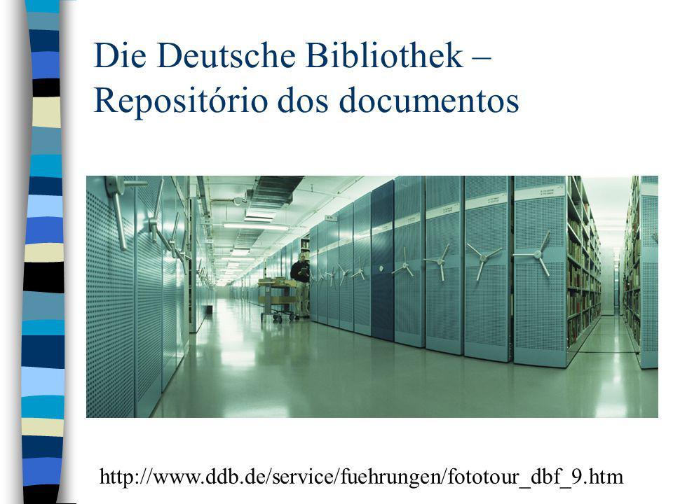 Die Deutsche Bibliothek – Repositório dos documentos
