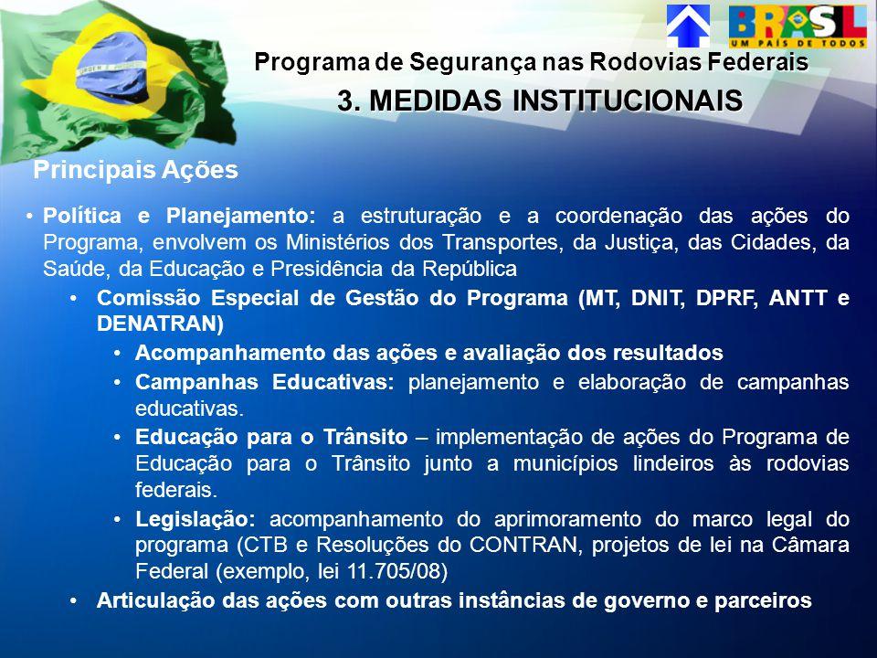 3. MEDIDAS INSTITUCIONAIS