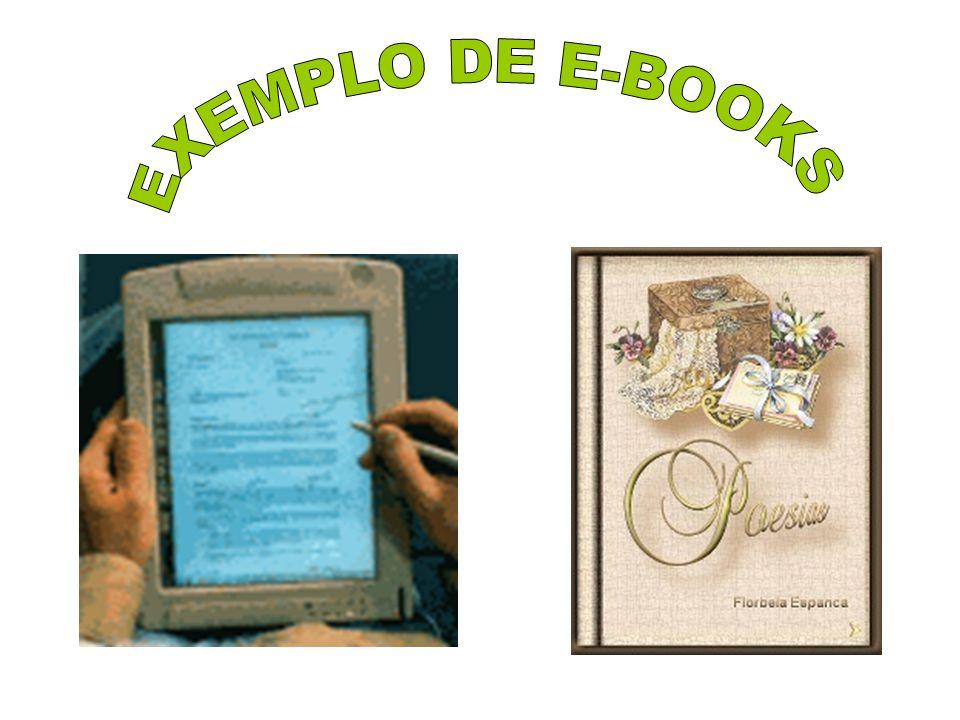 EXEMPLO DE E-BOOKS