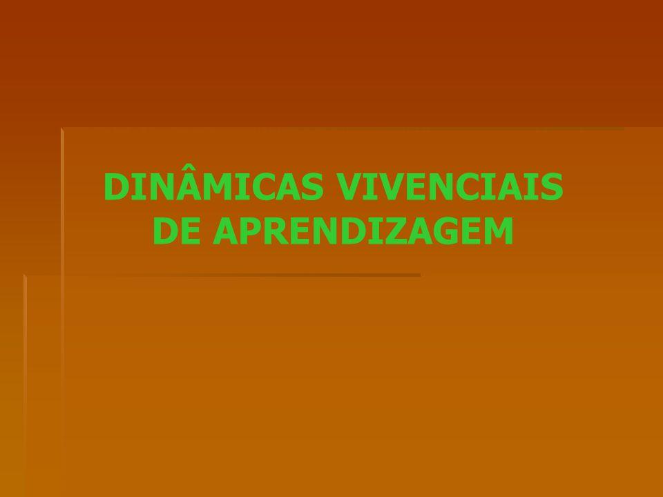 DINÂMICAS VIVENCIAIS DE APRENDIZAGEM