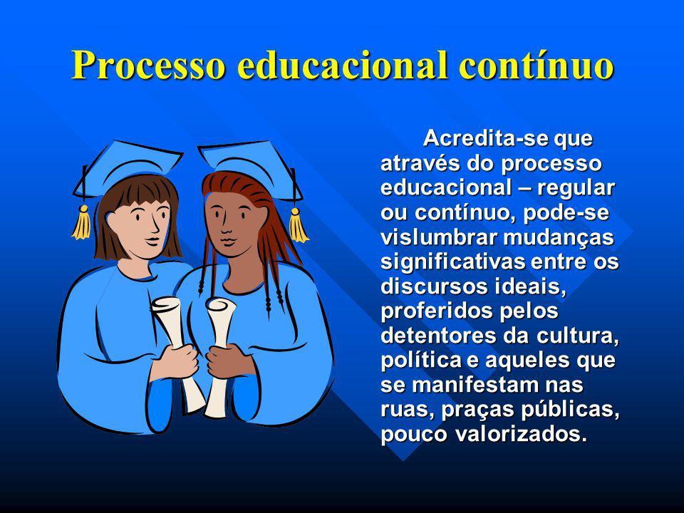 Processo educacional contínuo