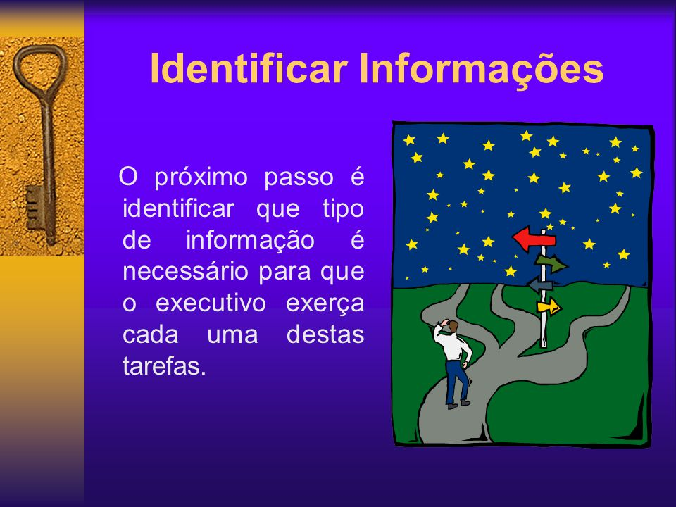 Identificar Informações