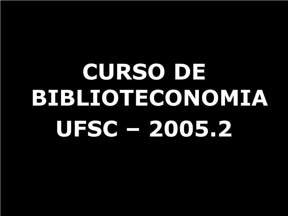 CURSO DE BIBLIOTECONOMIA