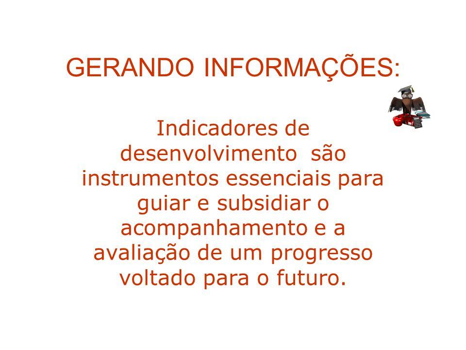 GERANDO INFORMAÇÕES: