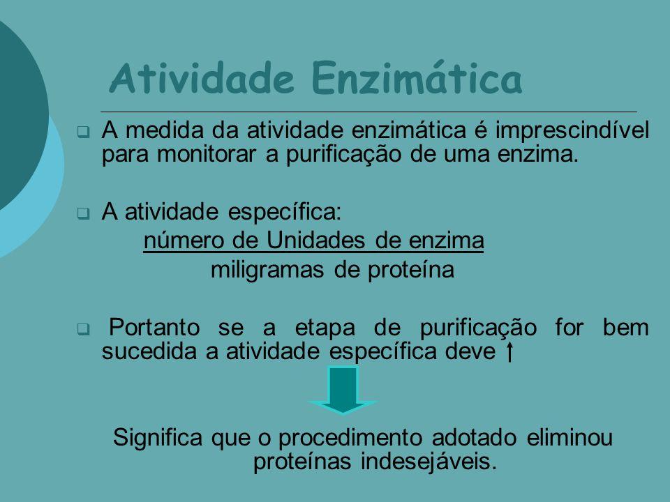 Significa que o procedimento adotado eliminou proteínas indesejáveis.