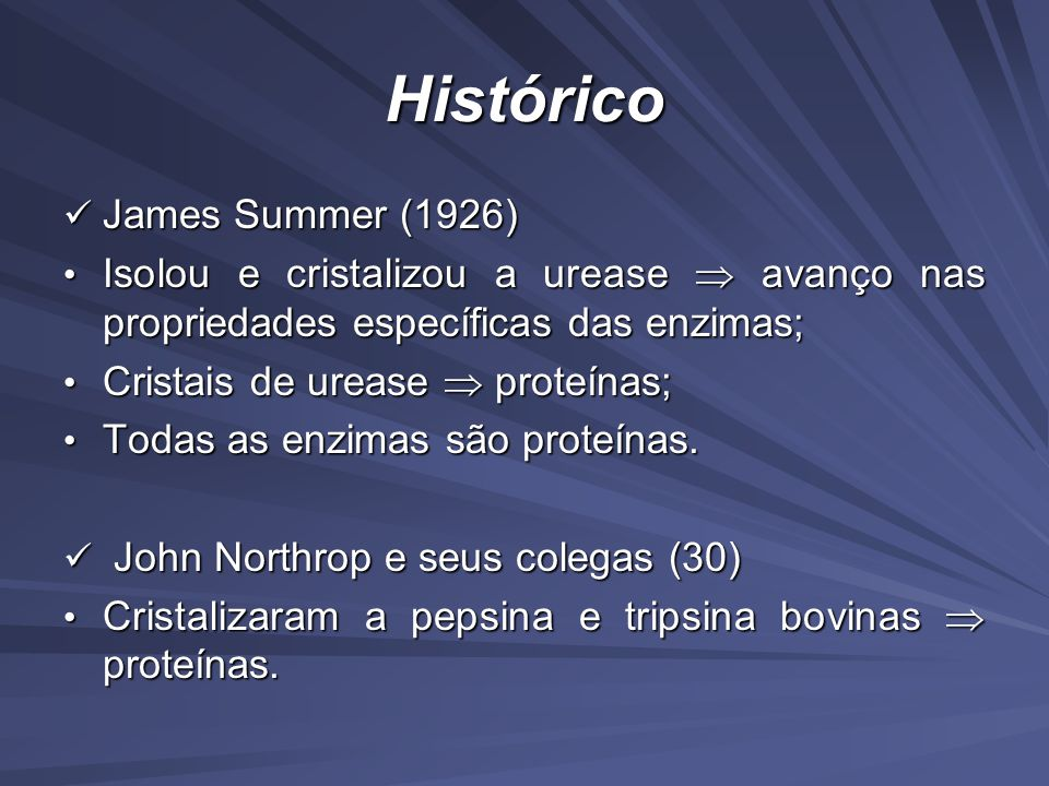 Histórico James Summer (1926)