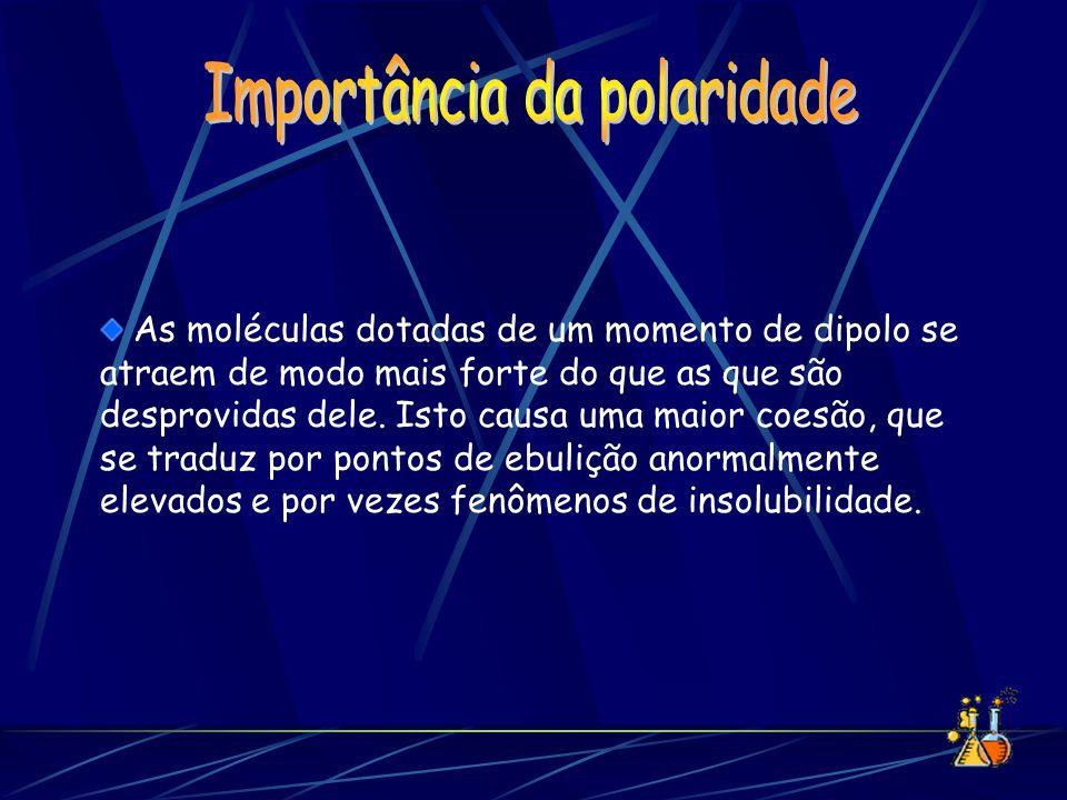 Importância da polaridade