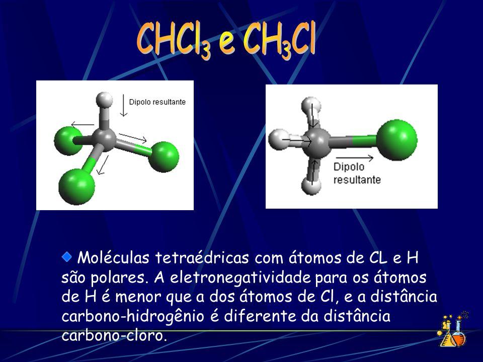 CHCl e CH Cl 3. 3.