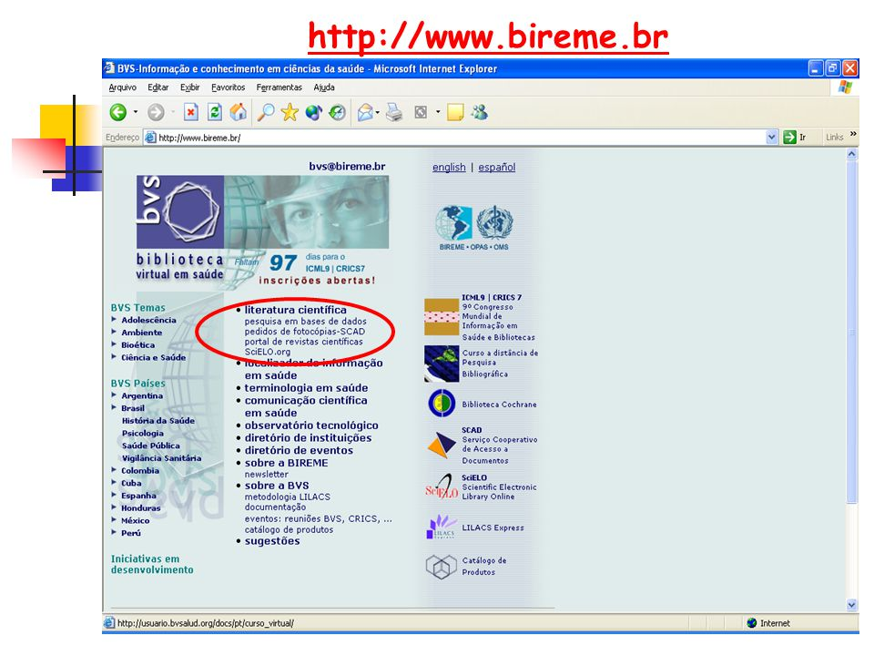 http://www.bireme.br