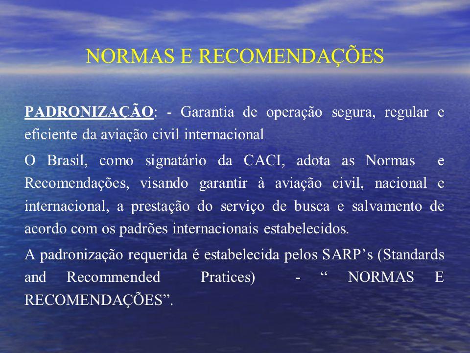 NORMAS E RECOMENDAÇÕES