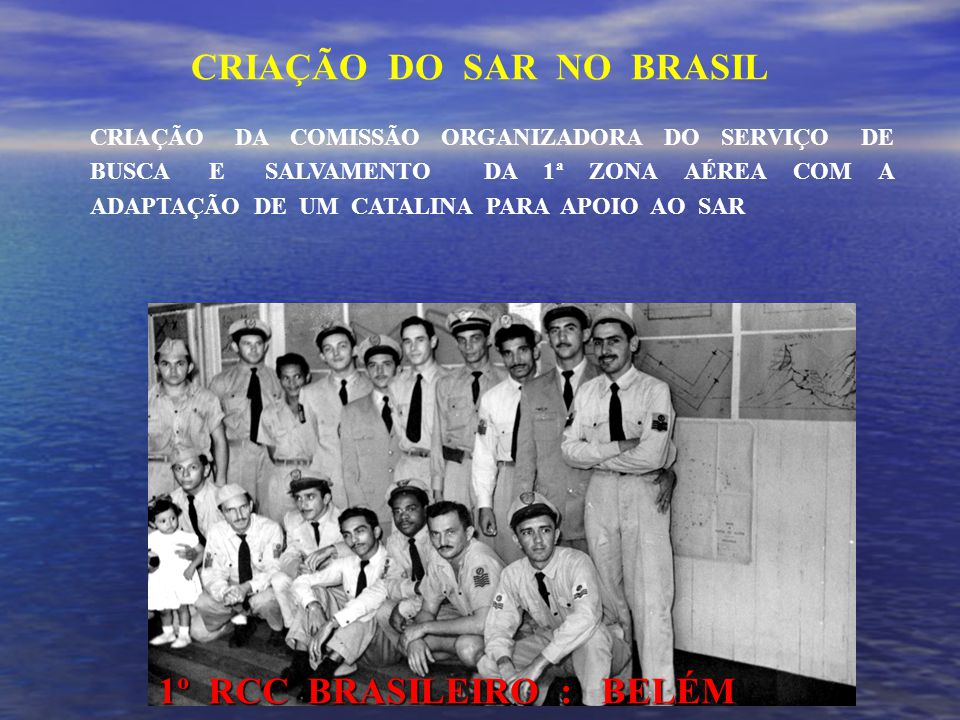 CRIAÇÃO DO SAR NO BRASIL