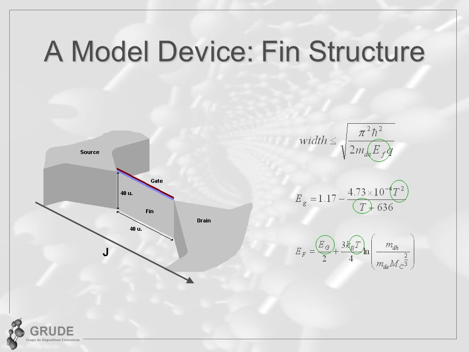 A Model Device: Fin Structure