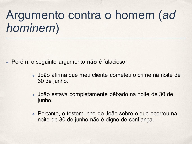 Argumento contra o homem (ad hominem)