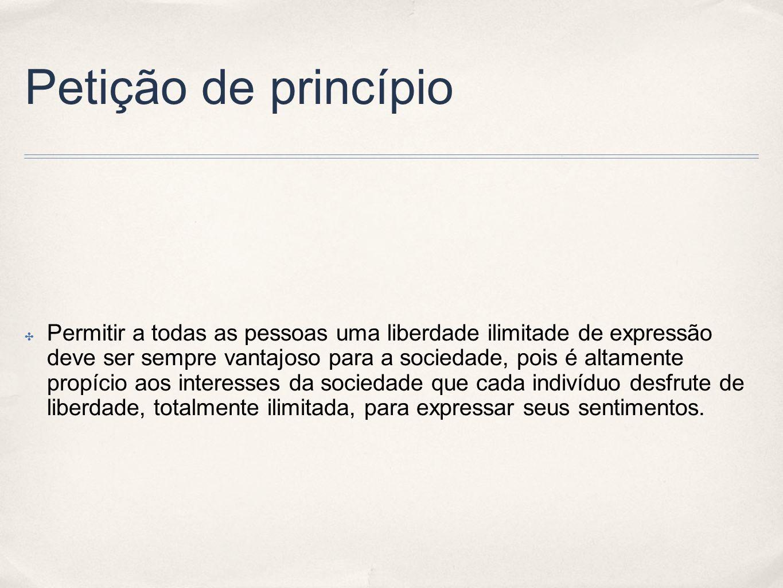 Petição de princípio