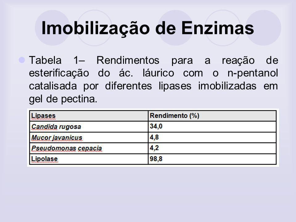 Imobilização de Enzimas