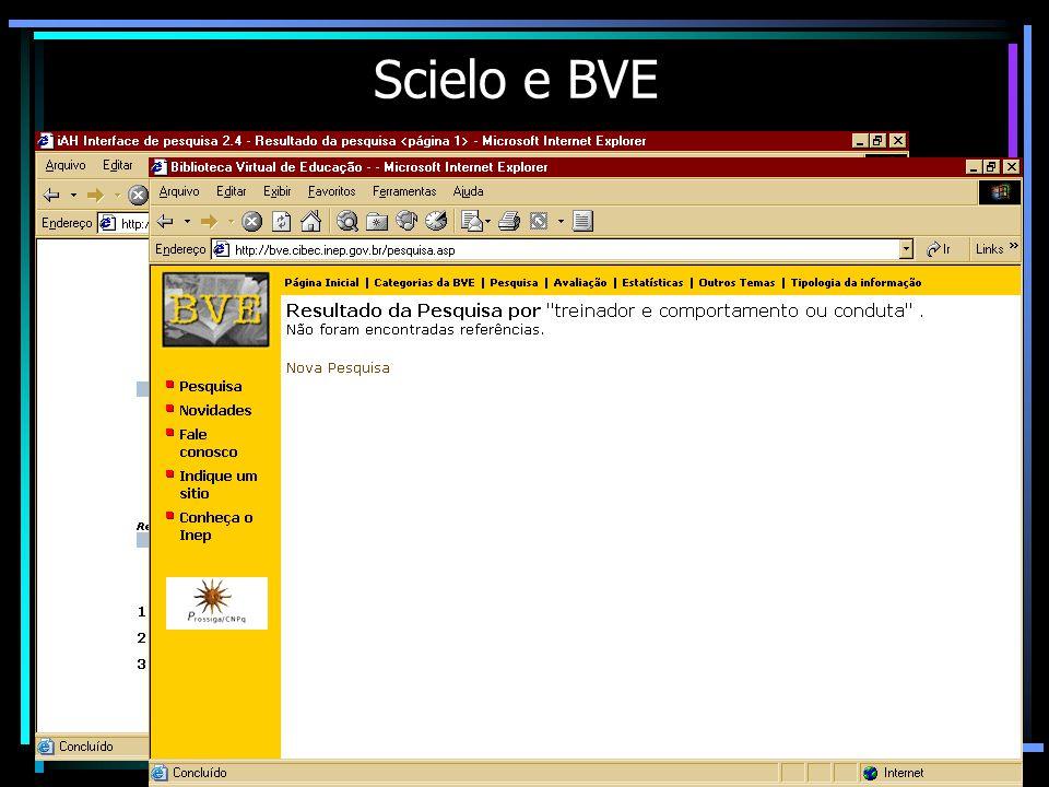 Scielo e BVE