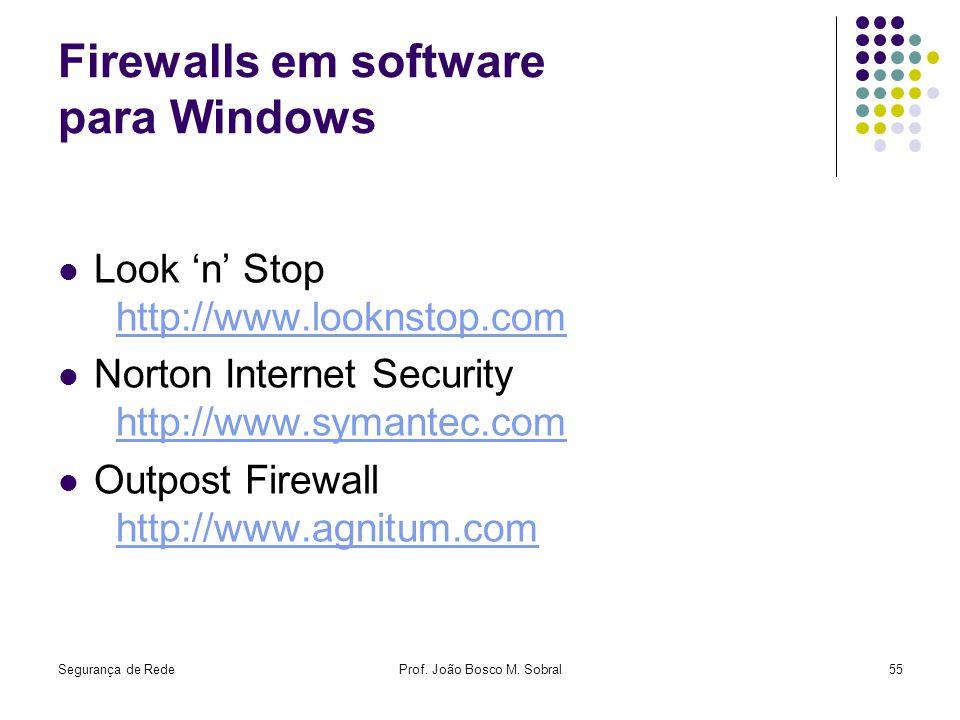 Firewalls em software para Windows