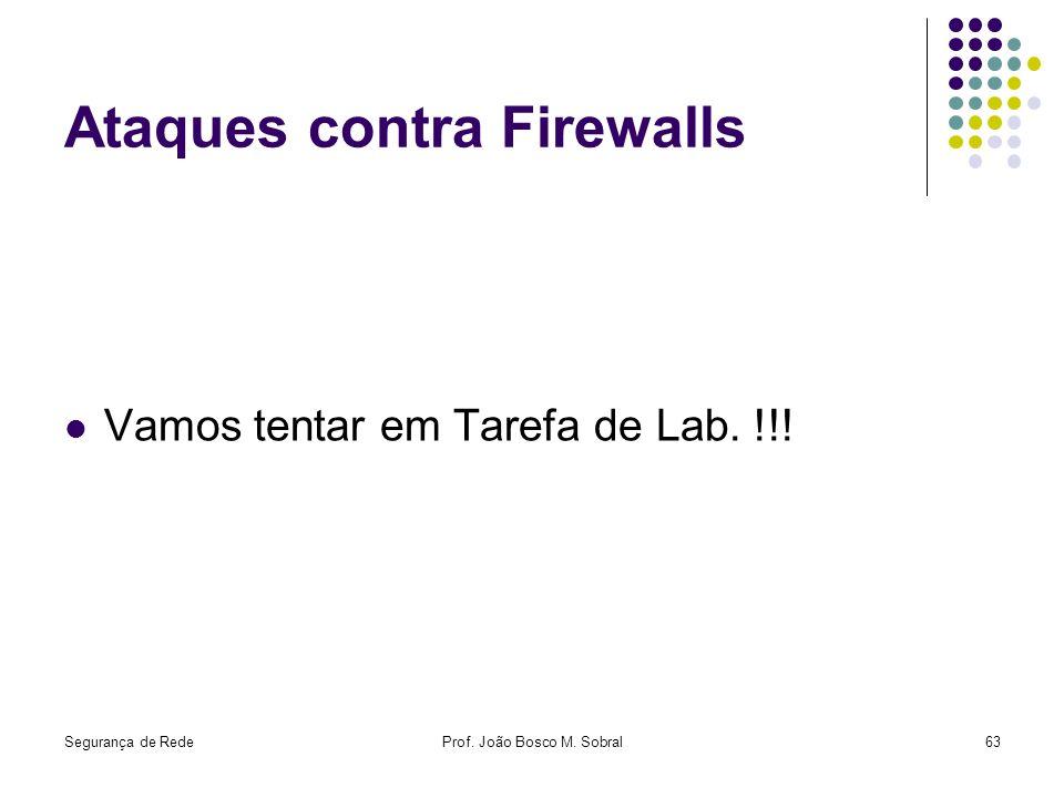Ataques contra Firewalls