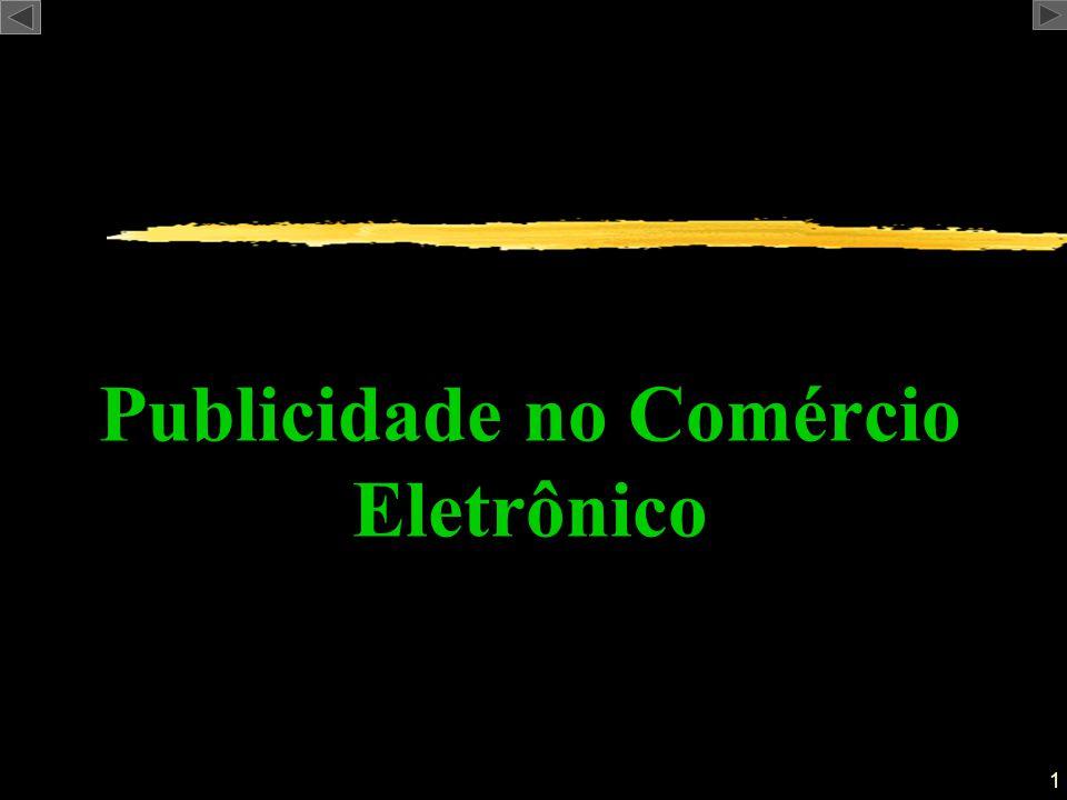 Publicidade no Comércio Eletrônico