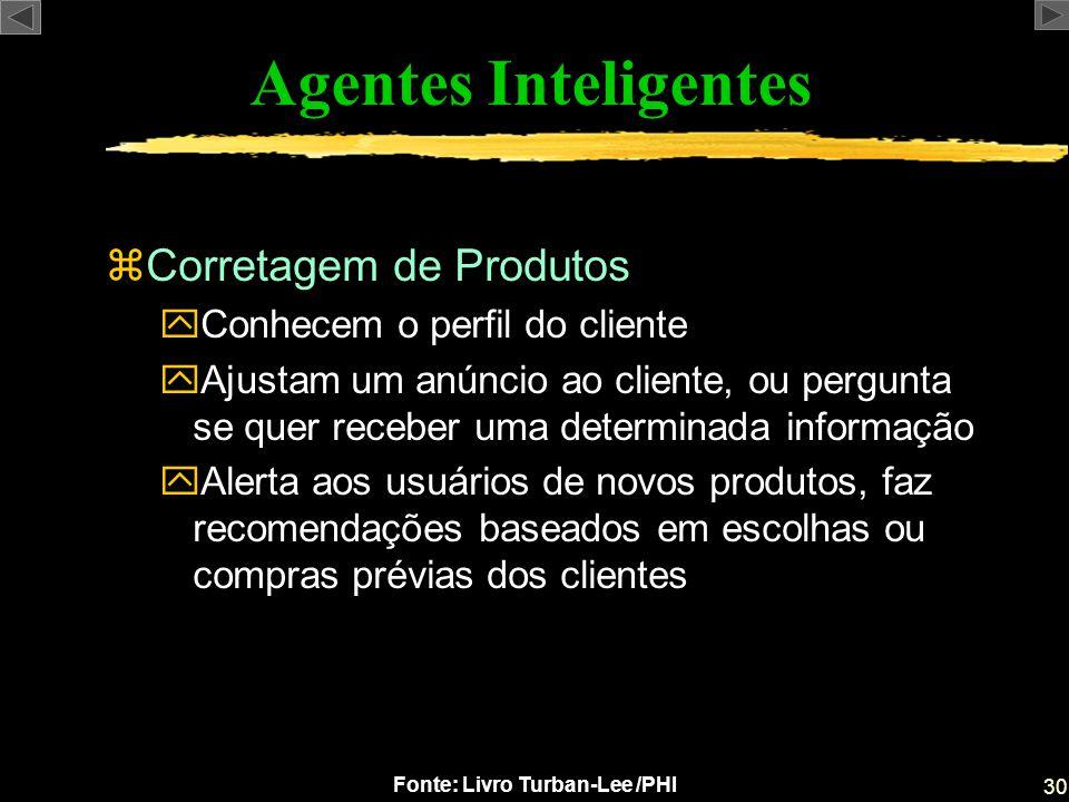 Agentes Inteligentes Corretagem de Produtos