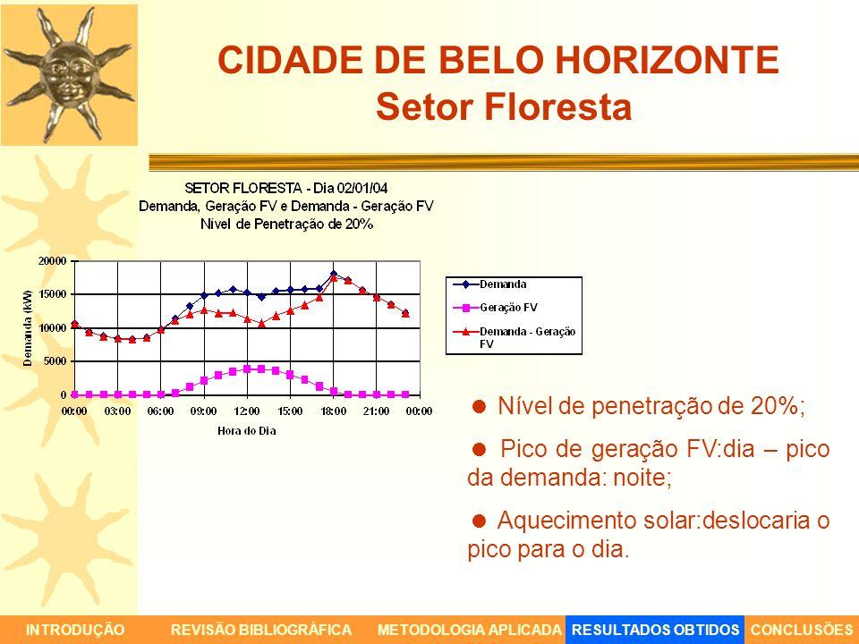 CIDADE DE BELO HORIZONTE Setor Floresta