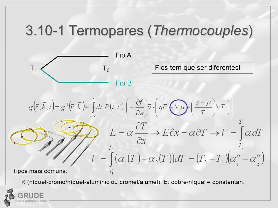3.10-1 Termopares (Thermocouples)