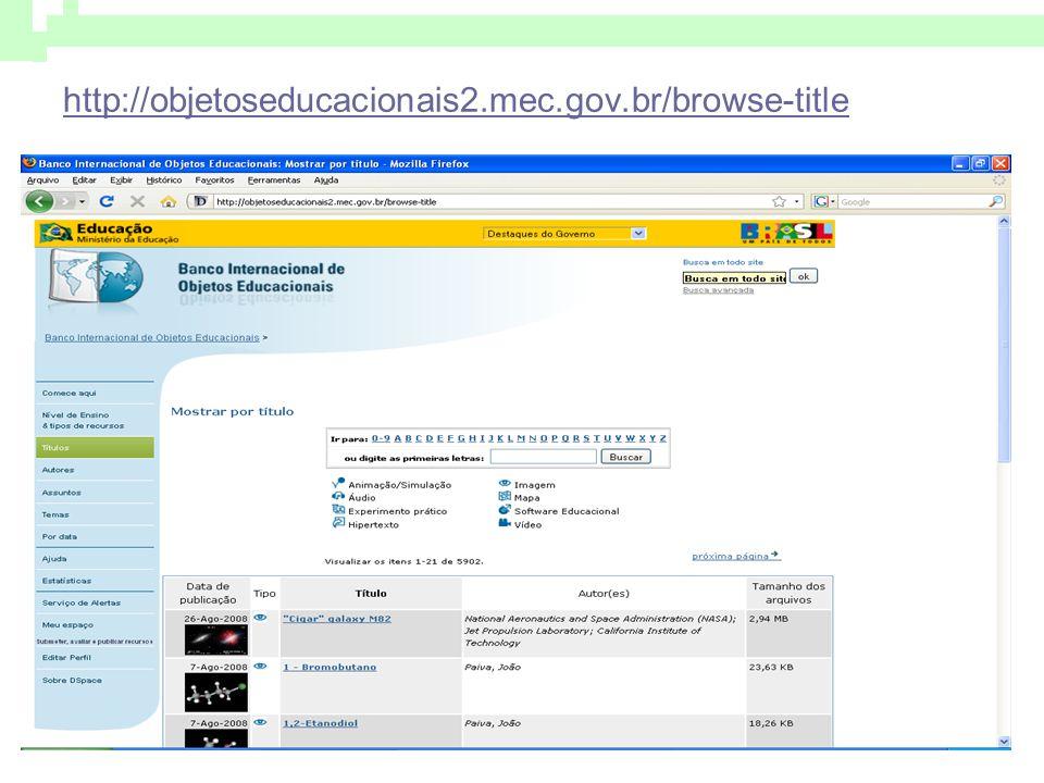 http://objetoseducacionais2.mec.gov.br/browse-title