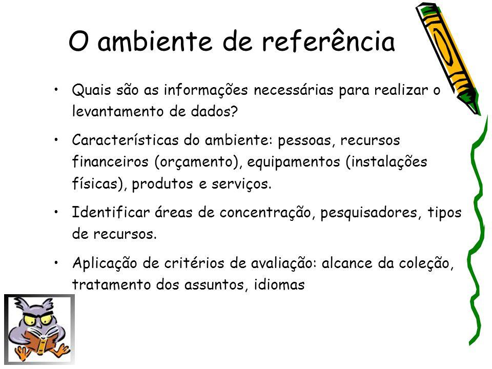 O ambiente de referência