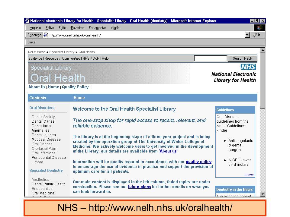 NHS – http://www.nelh.nhs.uk/oralhealth/