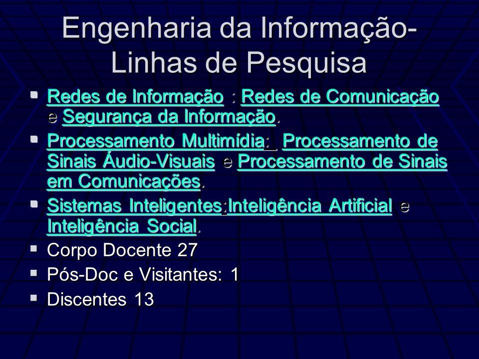 Engenharia da Informação-Linhas de Pesquisa