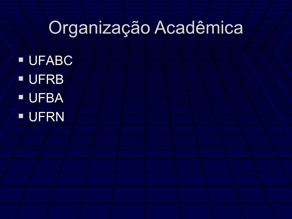 Organização Acadêmica
