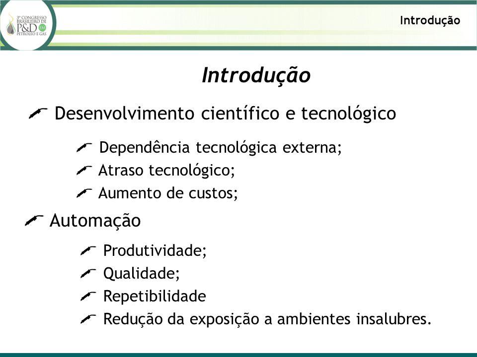 Introdução Desenvolvimento científico e tecnológico Automação
